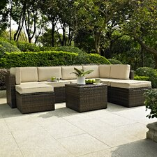 Palm Harbor 8 Piece Seating Group with Cushions