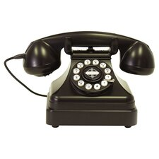 Kettle Desk Phone in Black