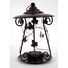 Leaf Mixed Seed Decorative Bird Feeder