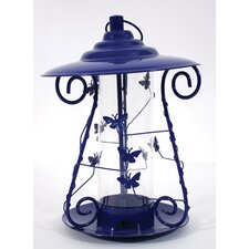 Butterfly Mixed Seed Decorative Bird Feeder