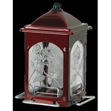 Rose Decorative Hopper Bird Feeder