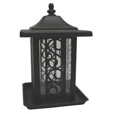 The Garden Gate Feeder in Black