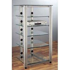 HGR Series 6-Shelf Audio Rack