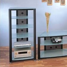 RGR Series 6-Shelf Audio Rack