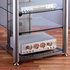 RGR Series 4-Shelf Audio Rack