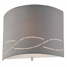 Silver Laser 1 Light Wall Sconce