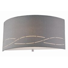 <strong>Philips Forecast Lighting</strong> Silver Laser 1 Light Wall Sconce