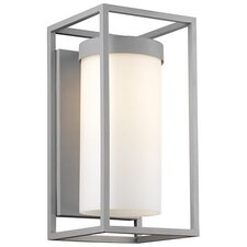 <strong>Philips Forecast Lighting</strong> Cube 1 Light Outdoor Wall Sconce