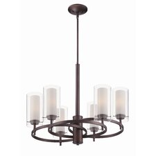 <strong>Philips Forecast Lighting</strong> Hula 6 Light Chandelier