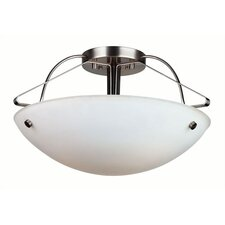 Orb Semi Flush Mount