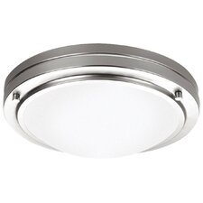 <strong>Philips Forecast Lighting</strong> West End Glass Flush Mount