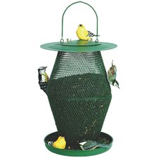 No / No Lantern Caged Bird Feeder