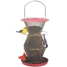 No / No 3-Tier Standard Feeder in Red