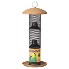 Straight Sided Sunflower Thistle Bird Feeder