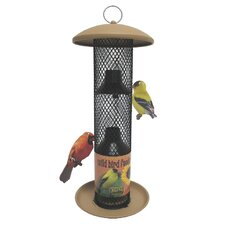 No / No Straight-Sided Sunflower Thistle Bird Feeder