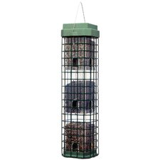 Evenseed Squirrel Dilemma Caged Bird Feeder
