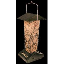 Squirrel Proof Hopper Bird Feeder