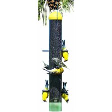 Upside Down Thistle Feeder in Yellow