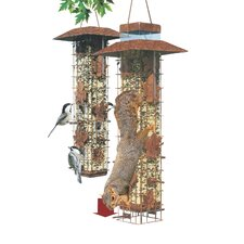 Squirrel Be Gone Wild Caged Bird Feeder