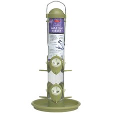 Safari Tube Feeder in Green