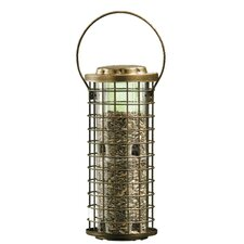 Squirrel Stumper Caged Bird Feeder
