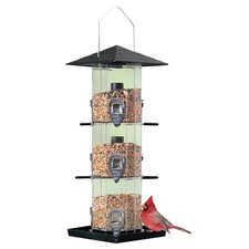 Deluxe View Hopper Bird Feeder
