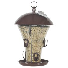 Easy Fill Deluxe Feeder in Brown