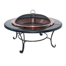 Granite Table Copper Fire Pit