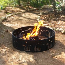 Steel Wilderness Fire Ring