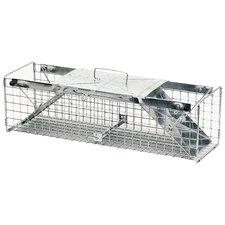 Two Door Rabbit Trap Cage