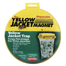 Disposable Yellow Jacket Magnet