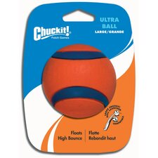 Ultra Dog Ball Toy in Orange