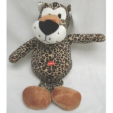Plush Wild Leopard Dog Toy