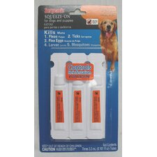 Squeeze-On Dog Flea and Tick
