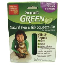 Green Flea and Tick Cat Squeeze-On