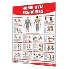 Home Gym Exercises Poster