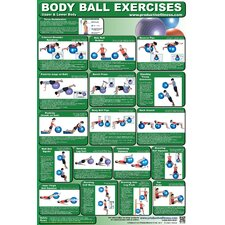 <strong>Productive Fitness Publishing</strong> Body Ball Poster - Upper and Lower