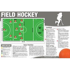 <strong>Productive Fitness Publishing</strong> Field Hockey Poster