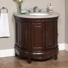 "<strong>Lanza</strong> Moon 36"" Vanity Set with Backsplash"
