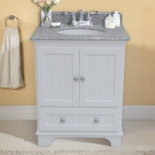 "Anica 28"" Vanity Set with Backsplash"