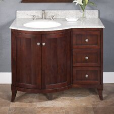"<strong>Lanza</strong> Aire 42"" Vanity Set with Backsplash"