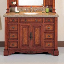 "Windsor 48.5"" Vanity Set with Mirror Hutch"