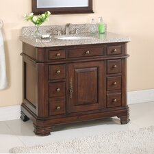 Bathroom Vanity on 42  Single Bathroom Vanity Set