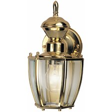 <strong>Heath-Zenith</strong> Traditional Coach 1 Light Outdoor Wall Lighting