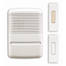 <strong>Heath-Zenith</strong> Wireless Plug In Door Chime Kit