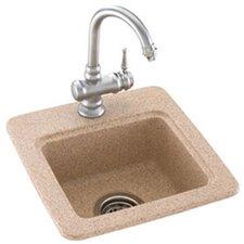 "Swanstone Classics 15"" x 15"" Small Bar Sink"