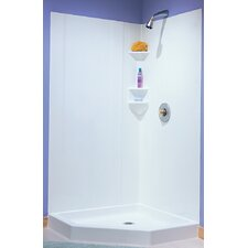 Everyday Essentials Two Panels High Gloss Shower Wall Kit