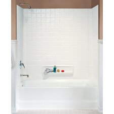 Classics Three Panel Swantile Tub Wall Kit