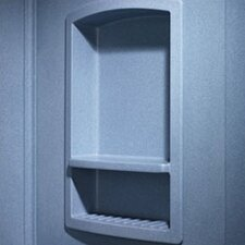 <strong>Swanstone</strong> Large Recessed Shower Accessory Shelf