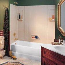 <strong>Swanstone</strong> Everyday Essentials Five Panel High Gloss Tub Wall System